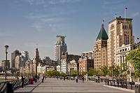 上海 外灘遊歩道