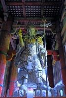 奈良県 東大寺 大仏殿の多聞天