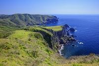島根県 隠岐の島(西ノ島) 摩天崖より国賀海岸