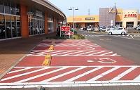 障害者のための駐車場 ヨークタウン