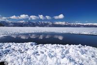 北海道 屈斜路湖のフロストフラワー