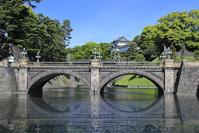 東京 千代田区 皇居 二重橋 伏見櫓