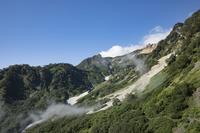 長野県 白馬鑓ヶ岳 登山道