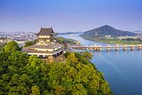 愛知県 犬山城と木曽川