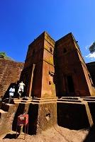 エチオピア ラリベラ セントジョージ教会