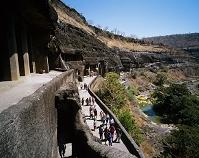 インド・アウランガーバード近郊 アジャンター石窟寺院群