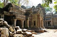 カンボジア アンコール遺跡 タ・プローム