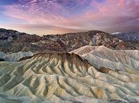 アメリカ合衆国 カリフォルニア デスバレー国立公園 浸食地形...