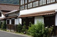 鳥取県 倉吉 古き街並み 白壁土蔵群 赤瓦