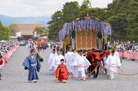 京都府 葵祭 路頭の儀 御所車