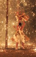 長野県 七久里神社裸まつり