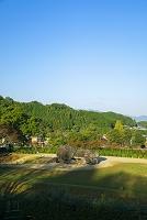 奈良県 石舞台古墳 横穴式石室 国の特別史跡