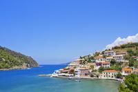 ギリシャ ケファロニア島 青空