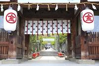 香川県 金刀比羅宮 大門と参道