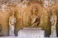 中国 炳霊寺石窟