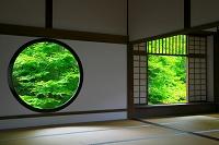 京都府 源光庵の悟りの窓と迷いの窓