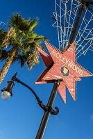 アメリカ合衆国 ロサンゼルス ハリウッドの看板