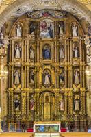 メキシコ プエブラ サント・ドミンゴ教会/主祭壇/内部