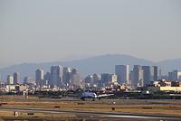 大阪国際空港 ANA 着陸