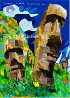 世界遺産アート チリ イースター島のモアイ