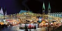 ドイツ ベルリン 夜のクリスマスフェア