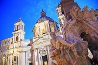 イタリア ローマ歴史地区 ナヴォーナ広場