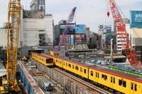 渋谷駅再開発(地下鉄駅移転)