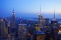 アメリカ合衆国 ニューヨーク マンハッタン 夜景
