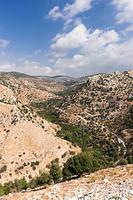 ヨルダン イルビド 山岳地帯