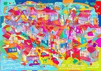 世界遺産アート スリナム パラマリボ市街歴史地区