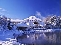 山梨県 忍野八海と富士山