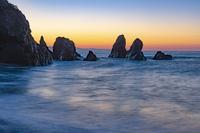 高知県 朝の五色の浜