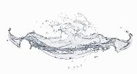 水のしぶき