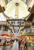 大阪府 大阪市 黒門市場 商店街