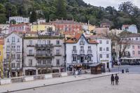 ポルトガル シントラの家並み
