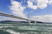 大鳴門橋と渦潮