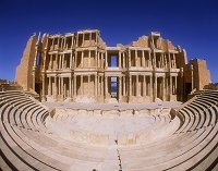 サブラタの遺跡 円形劇場