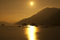 福島県 月光の秋元湖