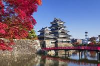 長野県 松本城 埋橋