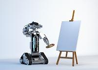 絵を描くロボット