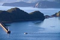 愛媛県 三瓶 下泊の海