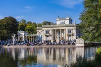 ポーランド ワルシャワ ワジェンキ公園 ワジェンキ宮殿