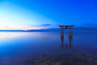滋賀県 高島市 白髭神社 琵琶湖