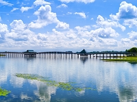 日本 青森県 鶴の舞橋