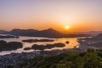 広島県 瀬戸内の夕景