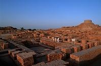 パキスタン モヘンジョダロの遺跡群