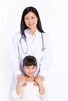 小学生と医者