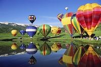 アメリカ合衆国 コロラド州 熱気球