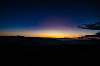大黒岳から見る御来光