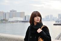 東京都 隅田川 日本人女性